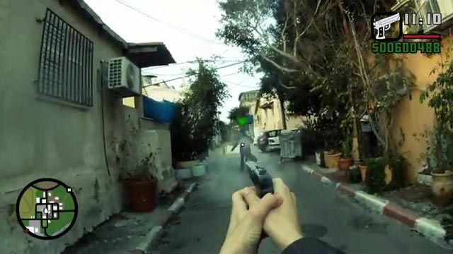 First-Person Grand Theft Auto in Real Life