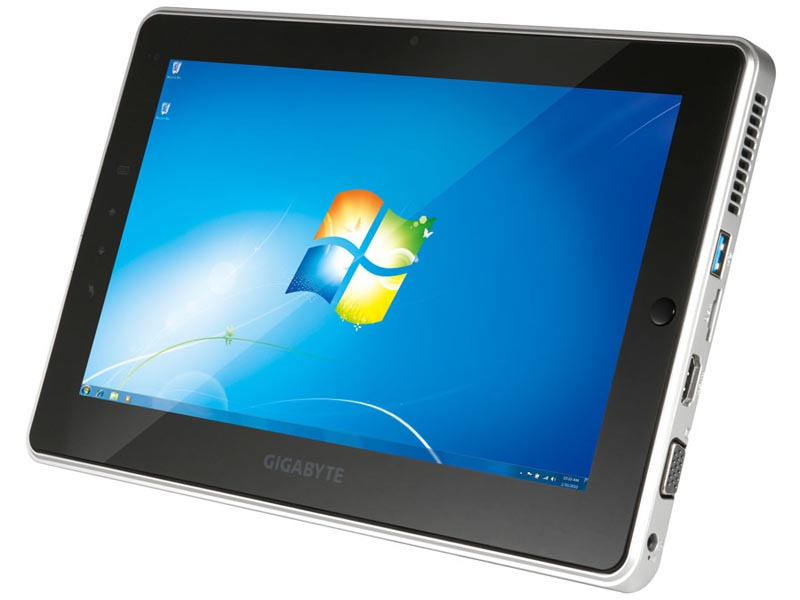 gigabyte s1081 windows tablet pc gadgetsin. Black Bedroom Furniture Sets. Home Design Ideas