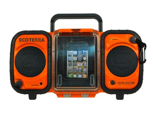 Grace Digital Eco Terra Rugged and Waterproof Boombox