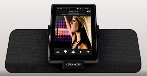 Grace Digital FireDock Dock Speaker for Kindle Fire