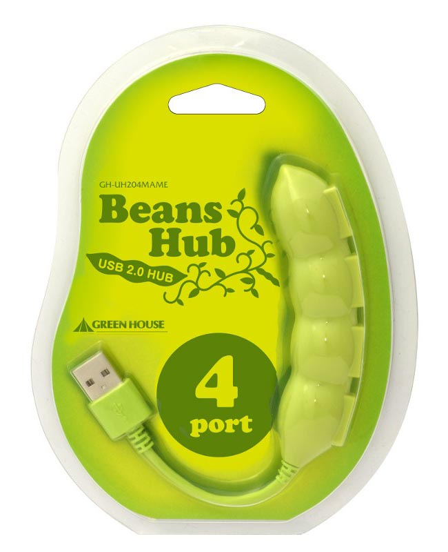 Green House Snow Peas USB Hub