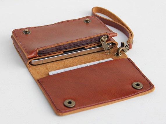 Mens Iphone  Wallet Case