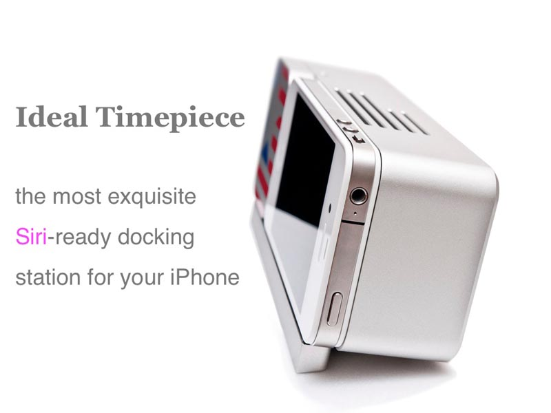 Ideal Timepiece Siri-Ready Docking Station