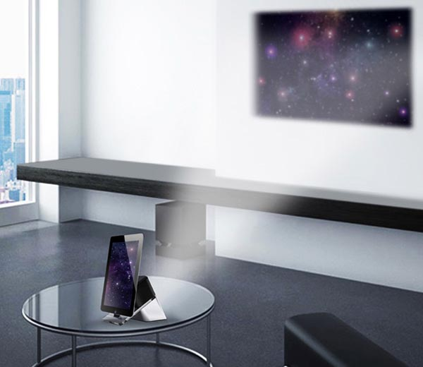 iDelighted Concept Dock Speaker with Pico Projector
