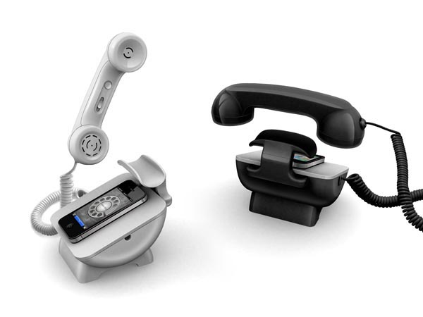 iRetroPhone Docking Station for Smartphones