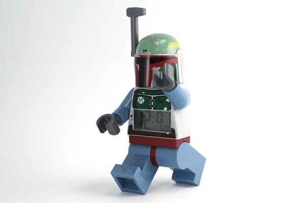 LEGO Star Wars Boba Fett Alarm Clock