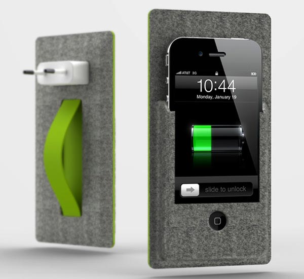 On-off The Wall iPhone Dock