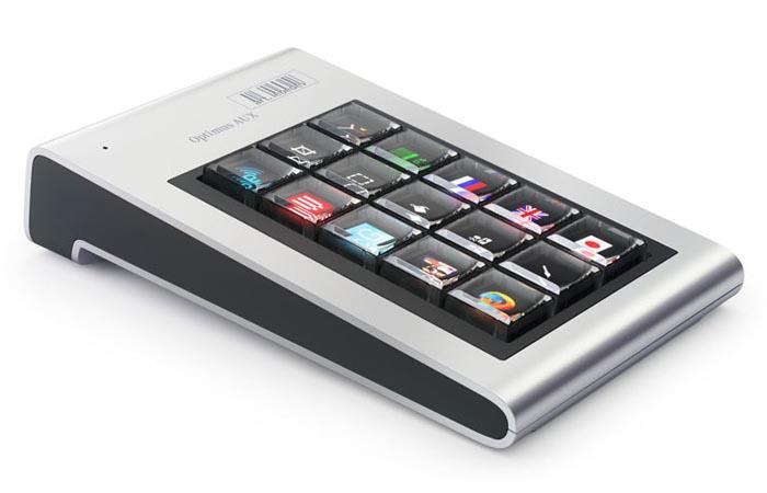Optimus Aux Keyboard by Art Lebedev Studio