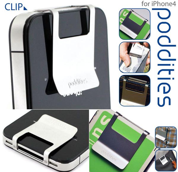 Poddities Money Clip for iPhone 4 and 4S