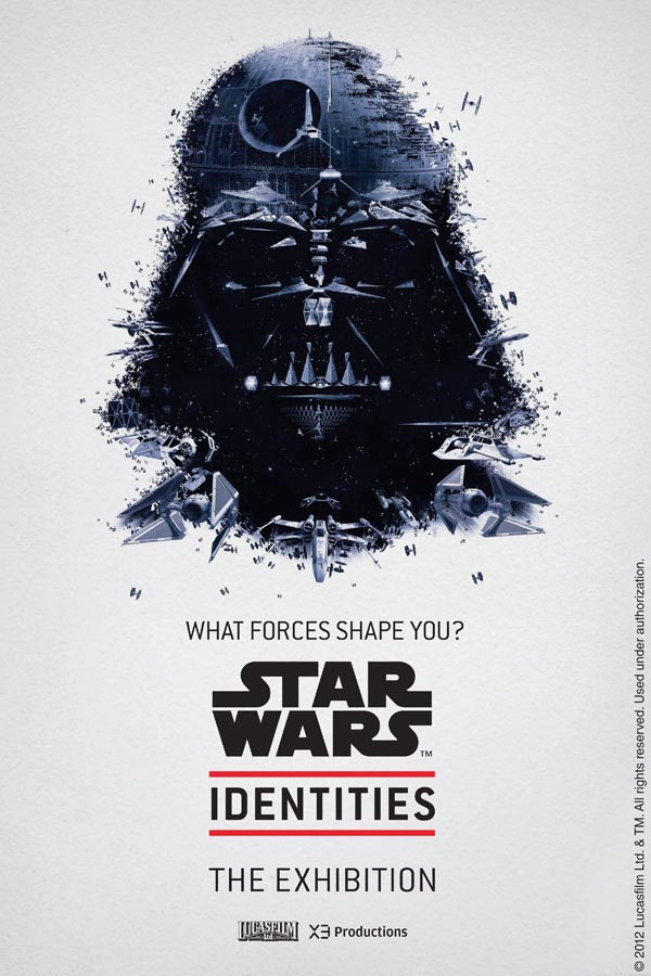 Star Wars Identities Exhibit Posters