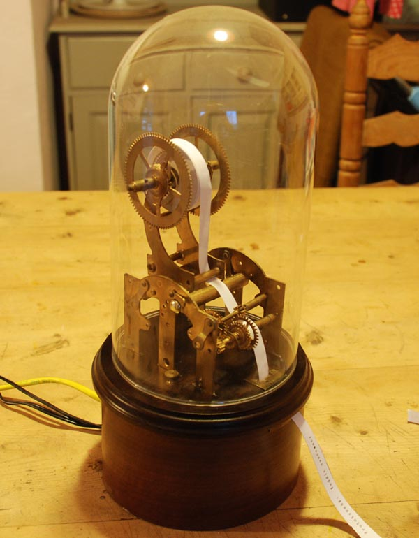 Steampunk Twittertape Machine