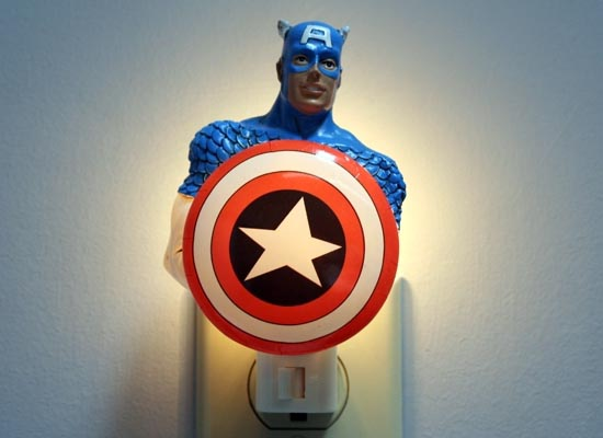 Superhero Night Lights