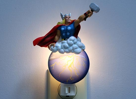 Superhero Night Lights Gadgetsin