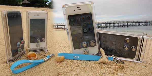 TAT7 Scuba Waterproof iPhone 4 Case