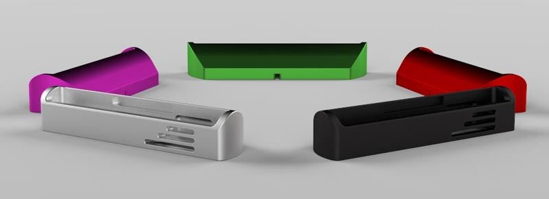 The Billet Docking Station for iPhone and iPad