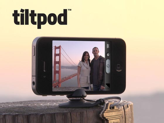 The Tiltpod Articulating iPhone Base