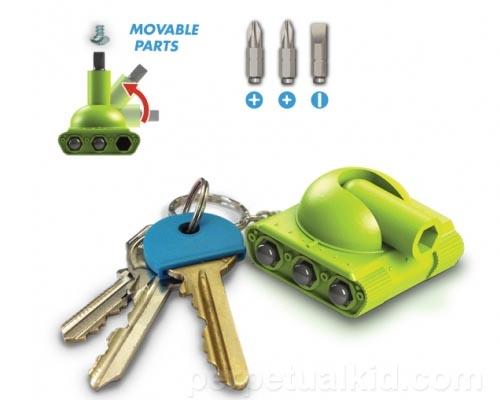 Tool Tank Multi-Tool Keychain