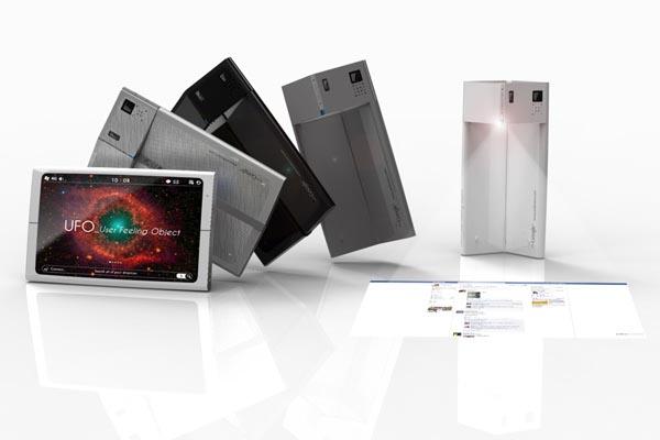 Ufo Smartphone Concept Design Gadgetsin