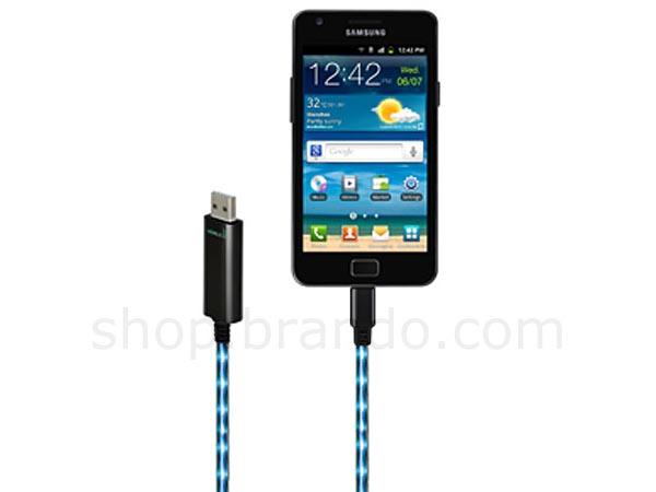 Visible Green USB Charging Cable