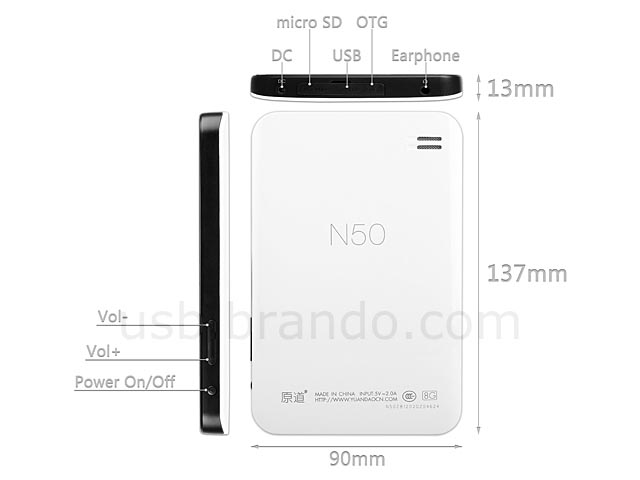 Yuandao N50 Android Tablet