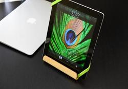 Desktop Chair iPad Stand for iPad and MacBook