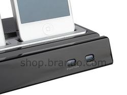 Multi Functional Dock Speaker for iPhone, iPod and iPad