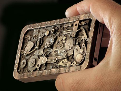 Handmade Steampunk iPhone 4 Case