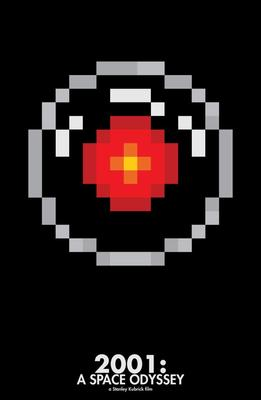 Pixelated Movie Posters