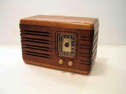 Handmade Speaker System with AM/FM Radio