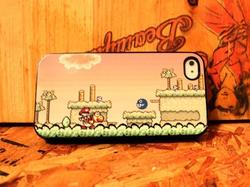 Super Mario Themed iPhone 4 Case