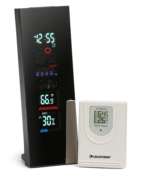 4 Color LCD Weather Station with Alarm Clock