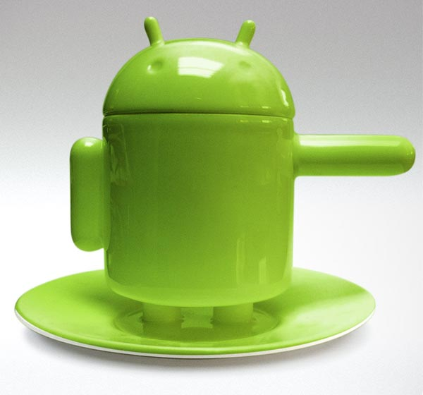 Android Espresso Cup Set
