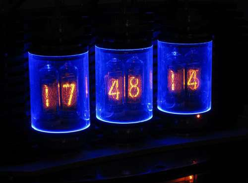 Awesome Lamina Nixie Clock