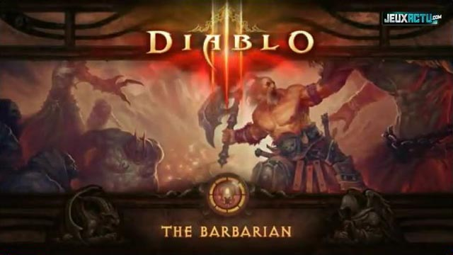 Diablo 3 The Barbarian Trailer