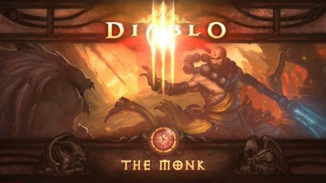Diablo 3 The Monk Further Detailed