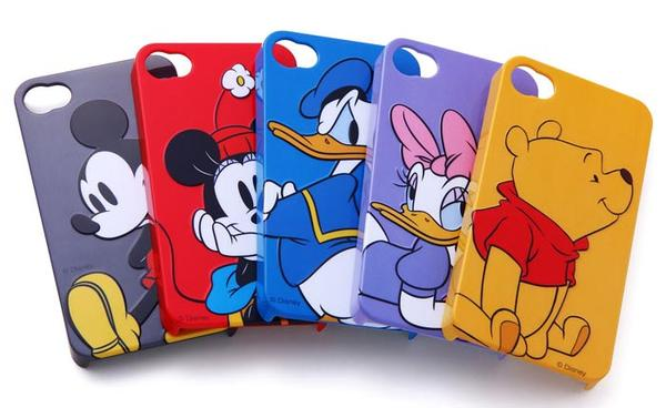 Disney Character 3D Relief iPhone 4 Case