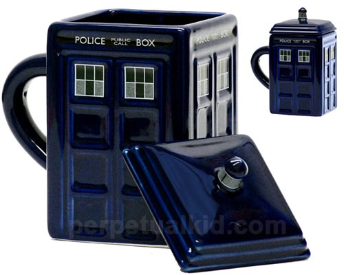 Doctor Who TARDIS Coffee Mug