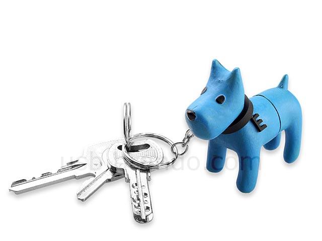 Doggie Keychain USB Flash Drive