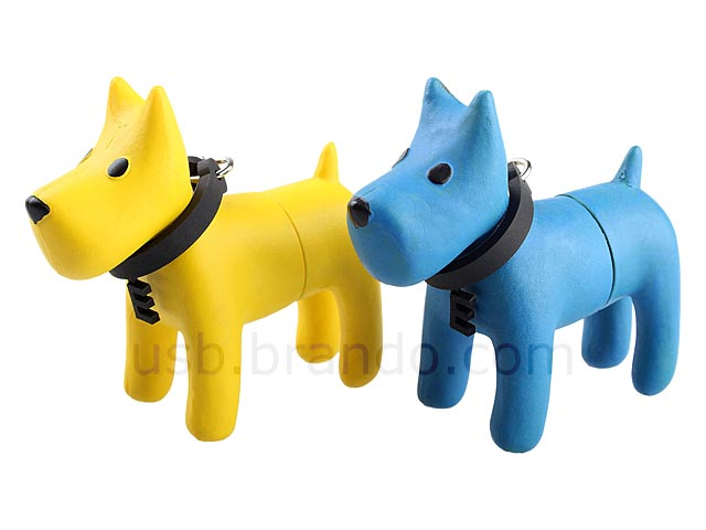 Doggie Keychain USB Flash Drive