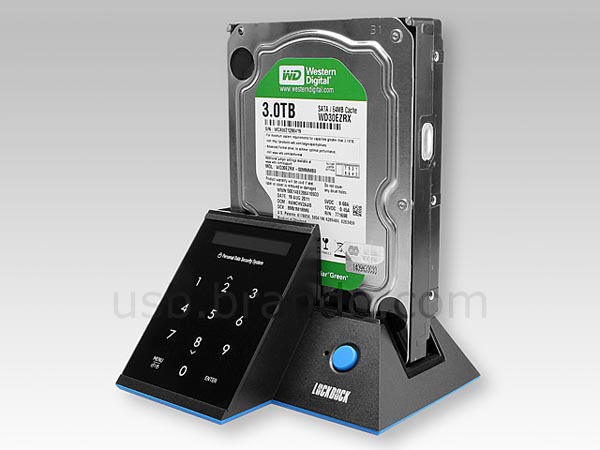 EZSAVE Lockdock USB 3.0 HDD Docking Station