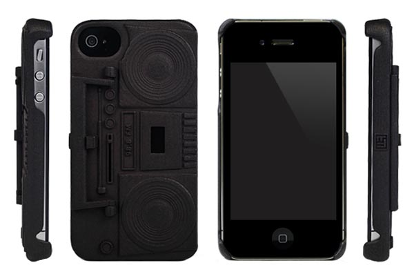 Freshfiber Boombox iPhone 4 Case
