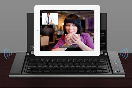 iHome iDM5 Dock Speaker with Wireless Keyboard