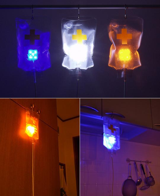 JTT IV Drip Bag USB LED Light