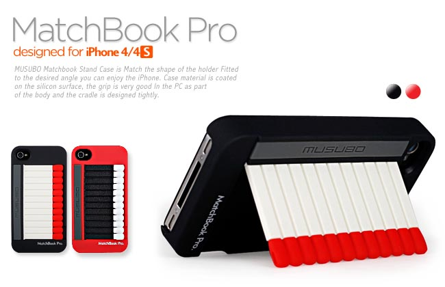 Matchbook iPhone 4 Case