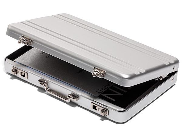 Mini Brifcase Shaped Business Card Case