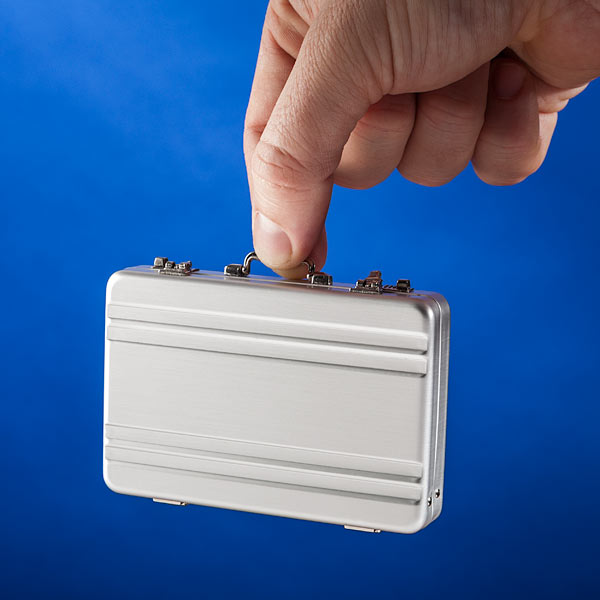 Mini Brifcase Shaped Business Card Case