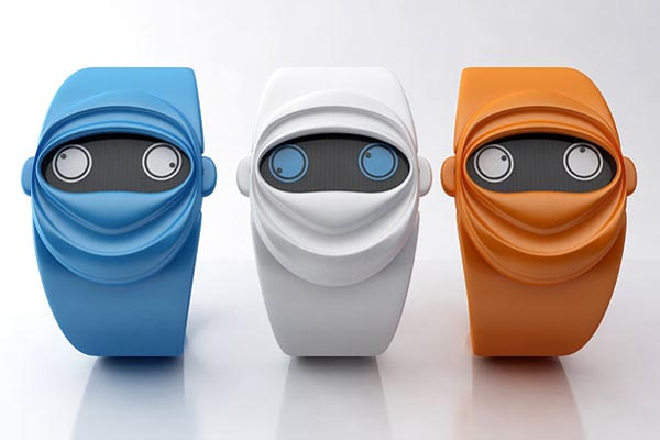 Ninja Time Concept Watch