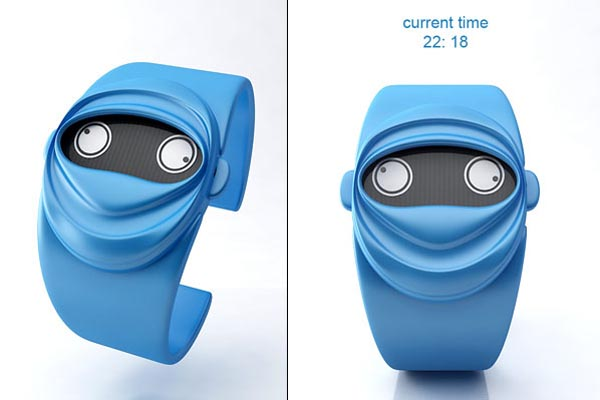 Ninja Time Concept Watch