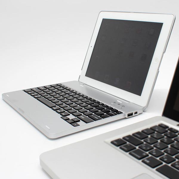 NoteBookCase iPad 2 Case with Keyboard and Backup Battery Now Available