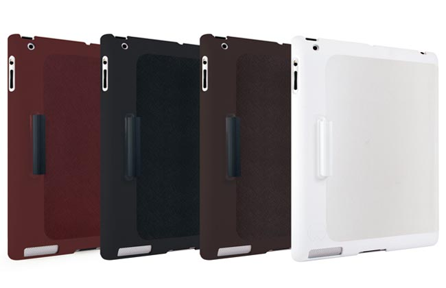 OZAKI iCoat Slim Y iPad 3 Case with Stylus